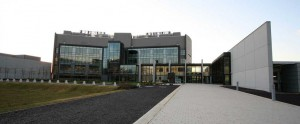 Panoramic photograph of the Cancer Research UK Cambridge Centre