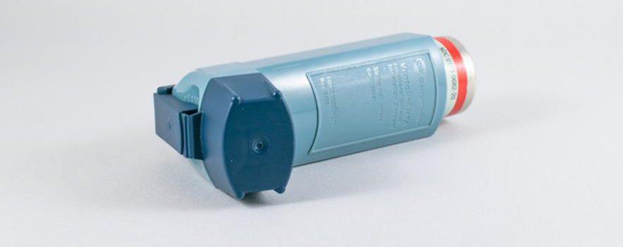 Photo of an inhaler